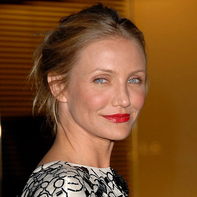 Cameron Diaz-Red Lipstick