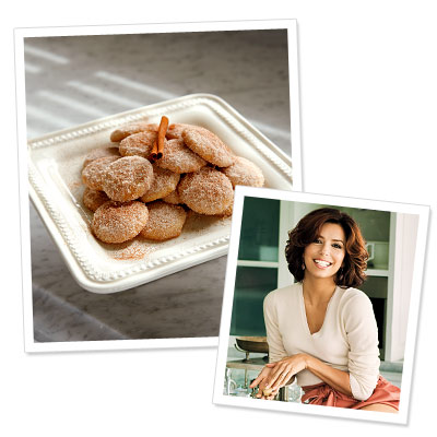 Stars' Favorite Holiday Dishes - Eva Longoria Parker's Pan de Polvo (Mexican Shortbread)