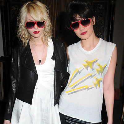 Taylor Momsen, Daisy Lowe, Launch of Carrera sunglasses collection, New York City