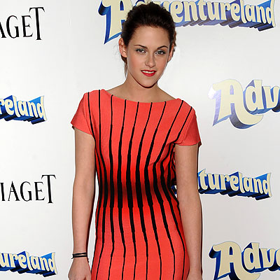 Kristen Stewart, Premiere of Adventureland, Los Angeles, Twilight, New Moon