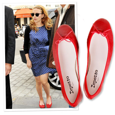 Nicole Chavez Names 10 Things Every Woman Must Own - Red Flats