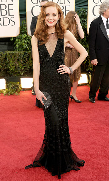 Golden Globes - Jayma Mays - Alberta Ferretti