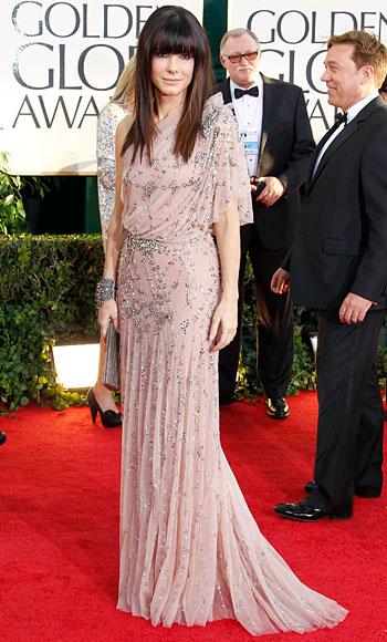 Golden Globes 2011 - Sandra Bullock - Jenny Packham