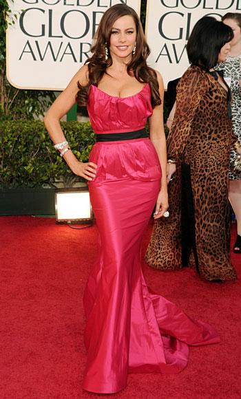 Golden Globes - Sofia Vergara - Vera Wang