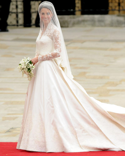 Kate Middleton Wedding Dress - Alexander McQueen - Royal Wedding Coverage