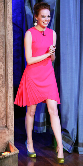 Emma Stone in Christopher Kane
