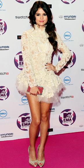 Selena Gomez in Marchesa