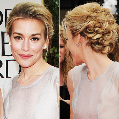 Best Knotty Updo: Piper Perabo
