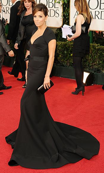 Golden Globes - Eva Longoria - Zac Posen