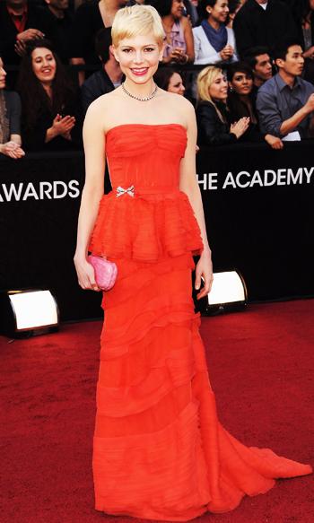 Michelle Williams - Louis Vuitton - Oscars 2012