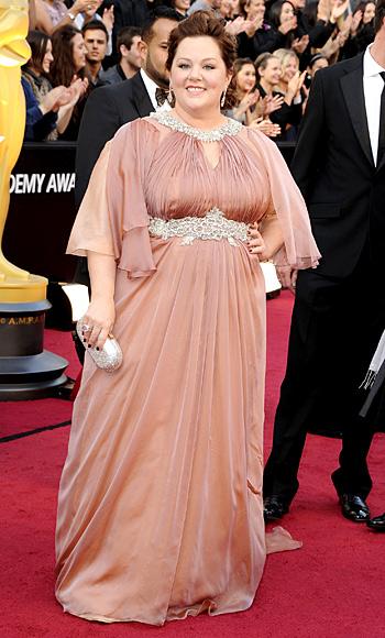 Melissa McCarthy - Marina Rinaldi - Oscars 2012