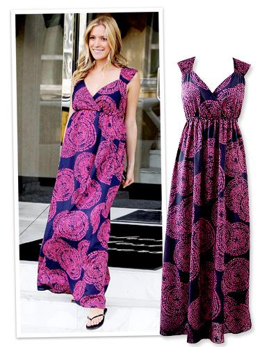 Kristin Cavallari in a Kmart maxi dress