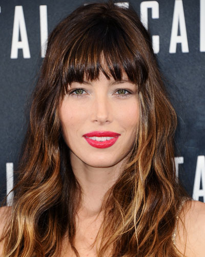 Look of the Day photo | Jessica Biel's Brunette-to-Blond Ombré