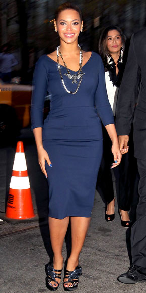Beyonce in Victoria Beckham