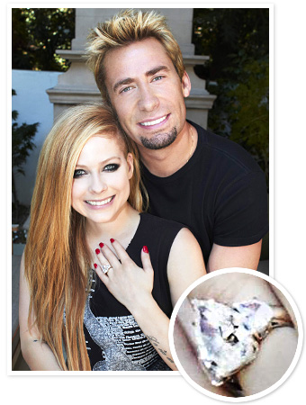 Avril Lavigne Engagement Ring