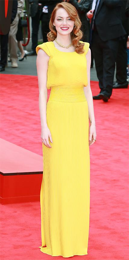 Emma Stone in Atelier Versace