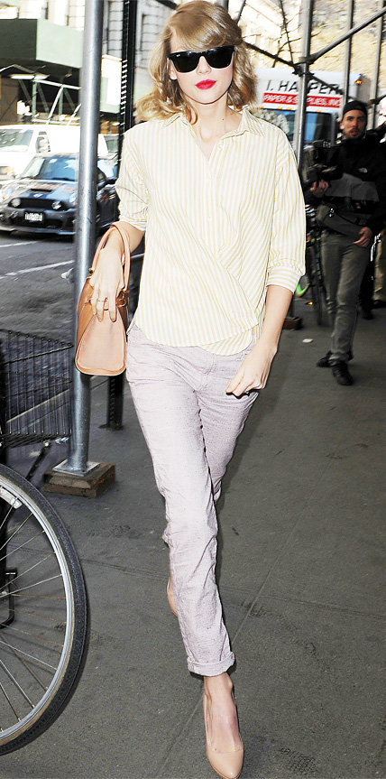 Taylor Swift in Joe's Jeans