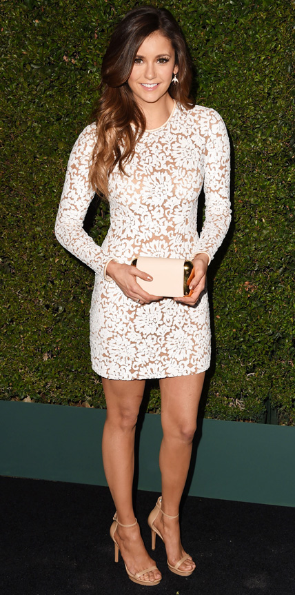Nina Dobrev in Michael Kors