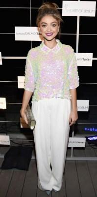 Sarah Hyland in DKNY