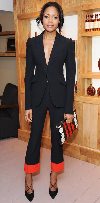 Naomie Harris in Alexander McQueen