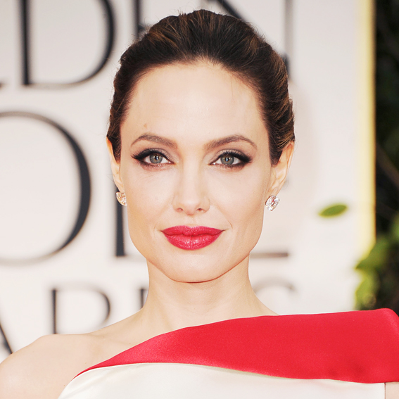 Angelina Jolie - Transformation - Hair - Celebrity Before and After