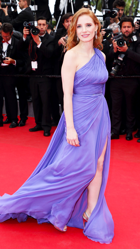 Jessica Chastain at 2014 Cannes Film Festival