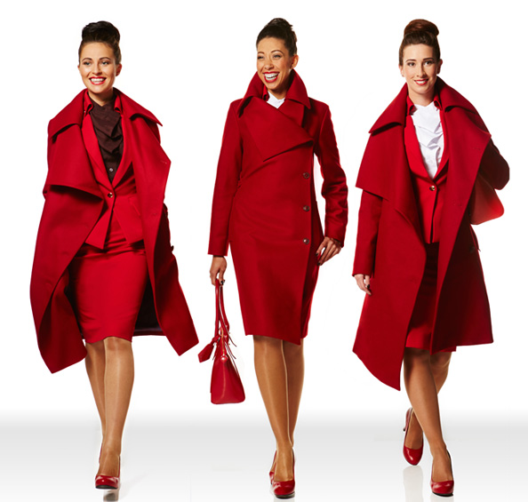 Vivienne Westwood designs for Virgin Atlantic