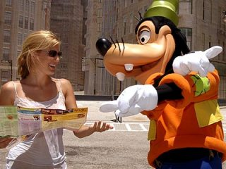 Lost at Disney World, via People