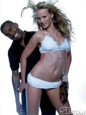Kanye and Model