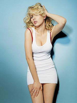 Scarlet Johansson. Do I really need an excuse?