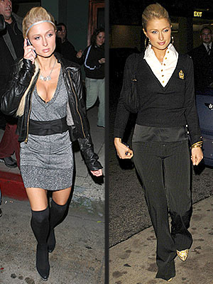Paris Hilton - sexy versus conservative