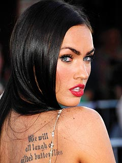 Something is off about Megan Fox.  She is all pretty with no substance...at least in the media.