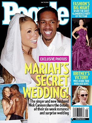 Seriously McmIllan she so ghetto people magazine Mariah Carey Nick Cannon Get Married