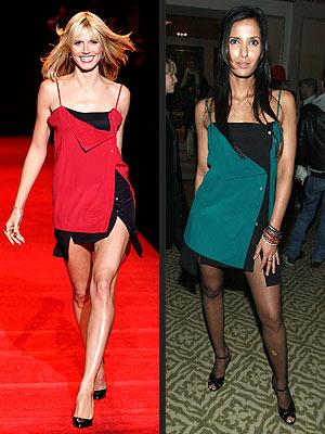 Who Wore It Better Heidi Klum Or Padma Lakshmi