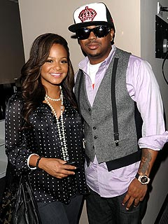Christina Milian & Husband The Dream on the Rocks | Christina Milian, The Dream
