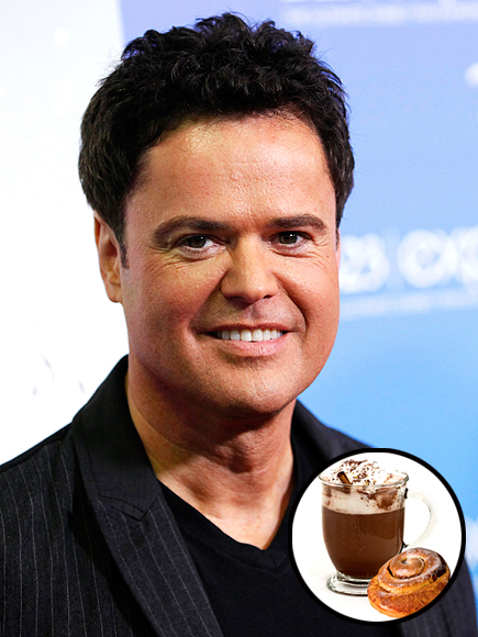 DONNY OSMOND'S MUST: HOT COCOA & CINNAMON ROLLS photo | Donny Osmond