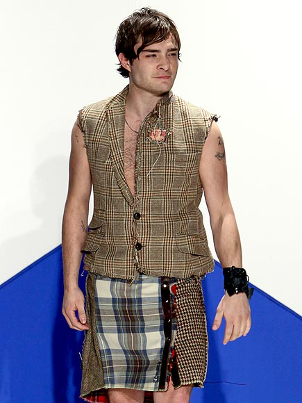 MAD FOR PLAID photo | Ed Westwick