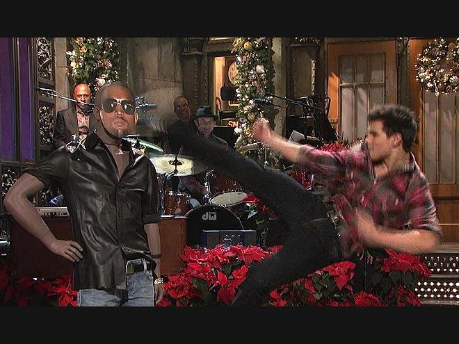 3. HE'S LOYAL  photo | Kanye West, Taylor Lautner