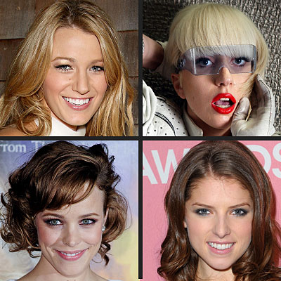 POLL: Which Star Would You Kiss on New Year's Eve? Blake Lively, Lady Gaga,