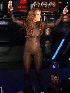 Jennifer Lopez's Nearly-Naked Catsuit Gets Catcalls