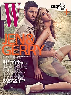 Jennifer Aniston & Gerard Butler's Sexy Magazine Cover Revealed