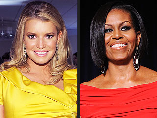 Jessica Simpson: I Want to Be Michelle Obama | Jessica Simpson, Michelle Obama