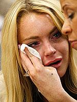 Sobbing Lindsay Lohan Sentenced to 90 Days in Jail | Lindsay Lohan