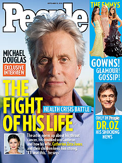 Michael Douglas: Radiation, Chemo 'Really Knocks You Out'