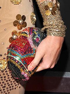 Jeweled Judith Leiber clutch