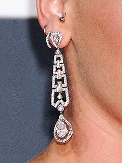 30-carat Neil Lane diamond earrings