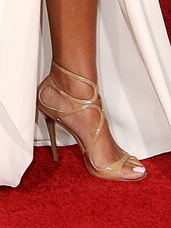 Nude Jimmy Choo sandals