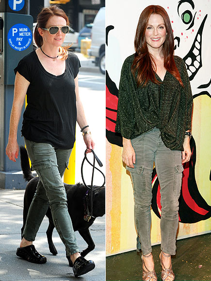 JULIANNE'S CARGO PANTS  photo | Julianne Moore