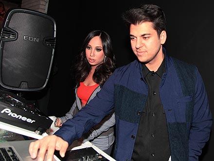 Rob Kardashian Reunites with Cheryl Burke for N.Y.C. Party | Cheryl Burke, Rob Kardashian