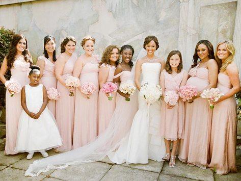 BLUSH AND BRIDE   photo | Tamera Mowry
